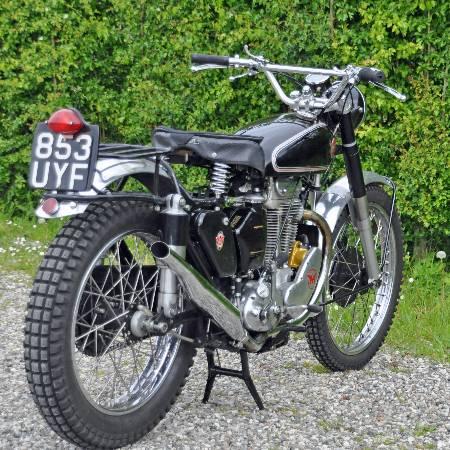 De orginele G80CS 1952 laat goed zien hoe hij oorspronkelijk is geweest